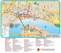Jacksonville Downtown Transport Map - Mapsof.Net Map
