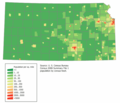 Kansas Population Map - Mapsof.net