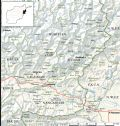 Kunar And Nuristan Map - Mapsof.Net Map