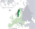 Location Sweden Eu Europe - Mapsof.net