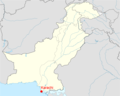 Location of Karachi Pakistan Map - Mapsof.Net Map