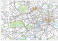 London Detailed Road Map - Mapsof.net