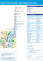 London Eye Pier Route Map - Mapsof.Net Map