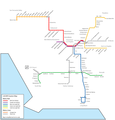 Los Angeles Metro Map(1) - Mapsof.Net Map