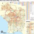 Los Angeles Transport Map - Mapsof.Net Map