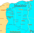 Maakhir Map - Mapsof.net