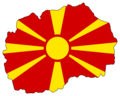 Macedonia Flag Map - Mapsof.net