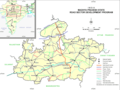 Madhya Pradesh Map - Mapsof.Net Map