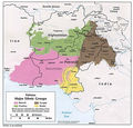 Major Ethnic Groups of Pakistan In 1980 - Mapsof.Net Map
