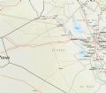 Map Of Western Iraq - Mapsof.Net Map
