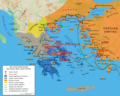 Map Greco Persian Wars - Mapsof.Net Map