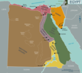 Map of Egypt - Mapsof.Net Map