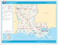 Map of Louisiana Na 1 - Mapsof.Net Map