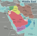 Map of Middle East - Mapsof.net