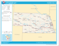 Map of Nebraska Na 1 - Mapsof.Net Map
