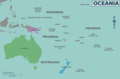 Map of Oceania - Mapsof.Net Map