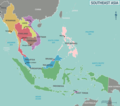 Map of Southeast Asia - Mapsof.net