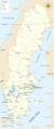 Map of Sweden Cities - Mapsof.net