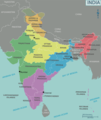 Map of India 1 - Mapsof.Net Map