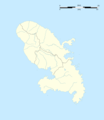 Martinique Department Location Map - Mapsof.net