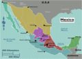 Mexico Regions Map - Mapsof.net