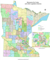 Minnesota Zip Code Map - Mapsof.Net Map