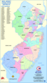 New Jersey Districts Map - Mapsof.Net Map