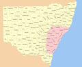 New South Wales Cadastral Divisions - Mapsof.net