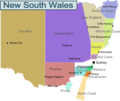 New South Wales - Mapsof.net