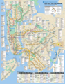 New York City Subway Map (metro) - Mapsof.Net Map