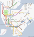 New York Subway Map (metro) - Mapsof.Net Map