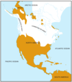 North America Glaciation Map - Mapsof.Net Map