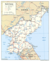 North Korea - Mapsof.Net Map