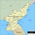 North Korea Cities Map - Mapsof.Net Map