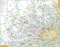 North West London Bus Map - Mapsof.Net Map