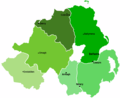 Northern Ireland Map - Mapsof.Net Map
