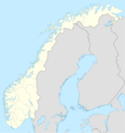 Norway Location Map - Mapsof.Net Map