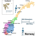 Norway Regions Map - Mapsof.Net Map