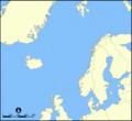 Norwegian Sea Blank Map - Mapsof.Net Map