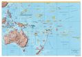 Oceania Physical Map - Mapsof.Net Map
