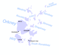 Orkney Scotland Map - Mapsof.Net Map