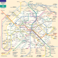 Paris Metro 1 - Mapsof.Net Map
