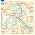 Paris Metro Map - Mapsof.Net Map