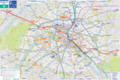 Paris Tourist Transport Map - Mapsof.Net Map