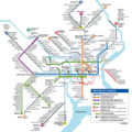 Philadelphia Subway Map (metro) - Mapsof.Net Map