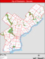 Philadelphia Zip Code Map - Mapsof.Net Map