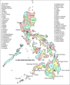 Philippines Districts Map - Mapsof.Net Map