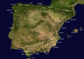Ports Spain Satellite Map - Mapsof.Net Map