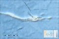 Rodrigues Island Bathymetric Environment Map French - Mapsof.net