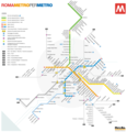 Rome City Metro Map - Mapsof.net